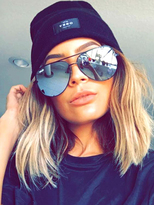 Quay x Desi Perkins High Key Sunglasses as seen on Desi and Kylie Jenner