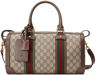 Gucci GG small duffle bag with Web