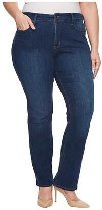 NYDJ Plus Size Plus Size Barbara Bootcut Jeans in Cooper