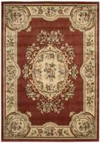 Nourison CHT01-099446092717 Chateau/W9 (CHT01) Rust Rectangle Area Rug