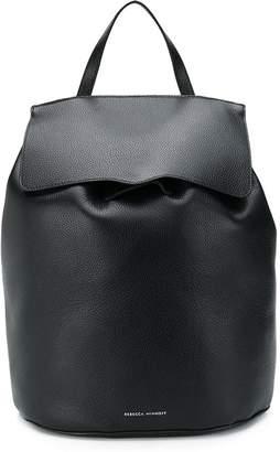 Rebecca Minkoff logo foldover backpack