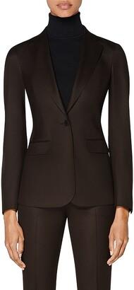 SUISTUDIO Cameron Wool Suit Jacket