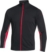 Under Armour Mens UA Reflex Warm-Up Jacket Black