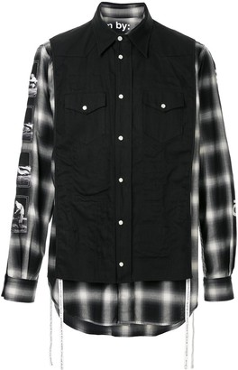TAKAHIROMIYASHITA TheSoloist. Charles Peterson plaid shirt