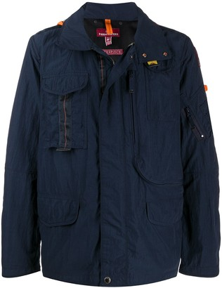 Parajumpers Concealed Zipped Utility Jacket