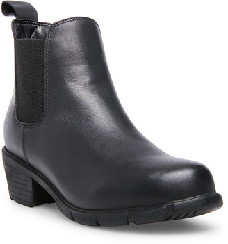 Steve Madden Women's Casual boots BLACK - Black Jessilyn Waterproof Leather Boot - Women