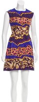 Peter Pilotto Digital Print Silk Dress
