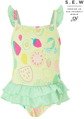Under Armour S.E.W Baby Berrie Fruit Swimsuit Yellow