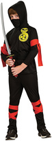 Rubie's Costume Co Black & Red Ninja Dress-Up Set - Kids