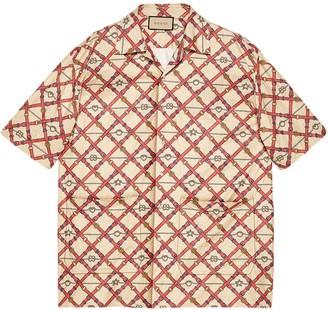 Gucci Oversized Bowling Print Shirt