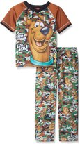 "Scooby-Doo Big Boys' ""Camo Dog"" 2-Piece Pajamas"