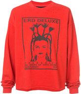 Enfants Riches Deprimes E.R.D. deluxe long sleeve T-shirt - unisex - Cotton - M