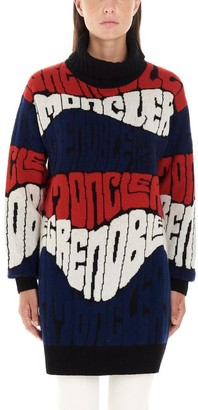 MONCLER GRENOBLE Wave Logo Sweater