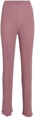 SABLYN Jordan Cashmere Rib Knit Pants