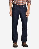 Eddie Bauer Men's Flex Jeans - Slim Straight Fit