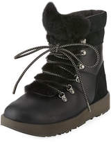 UGG Viki Water-Resistant Mixed Leather Boot