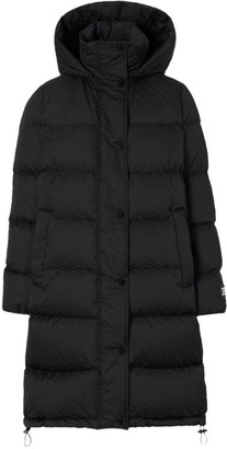 Burberry Monogram Puffer Coat