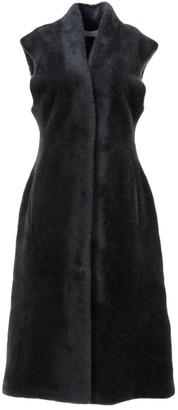 LVIR Faux-Fur Long-Line Vest