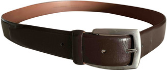 HUGO BOSS Brown Leather Belts