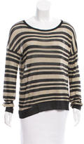 Rag & Bone Striped Knit Top