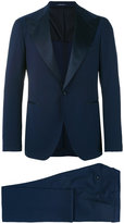 Tagliatore wide lapel dinner suit - men - Cupro/Mohair/Virgin Wool - 48
