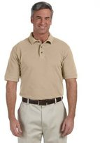 Harriton Men's 6 oz. Ringspun Cotton Piqué Short-Sleeve Polo 5XL