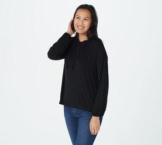 Laurie Felt Fuse Modal Ribbed Knit Hoodie