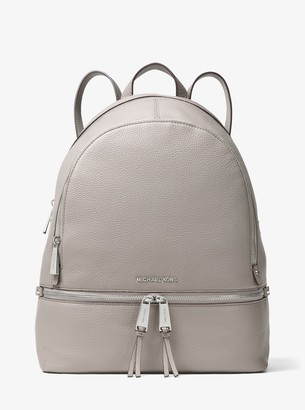 MICHAEL Michael Kors Rhea Large Leather Backpack