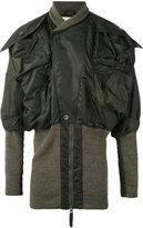 Vivienne Westwood Clint Eastwood bomber jacket - unisex - Polyamide/Polyester/Virgin Wool - One Size