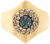 Ileana Makri 'Round Evil Eye Shield' ring