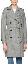 Tommy Hilfiger Women's Beth Boiled Wool Trench Jacket