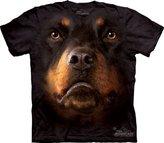 The Mountain Men's Rottweiler Face T-shirt