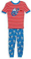Petit Lem Little Boy's Two-Piece Pajama Top and Pants Set