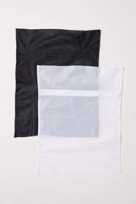 H&M 2-pack Mesh Laundry Bags - White