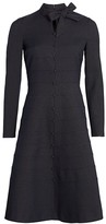 Button-Down A-line Dress