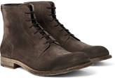 Belstaff Alperton Burnished-suede Boots