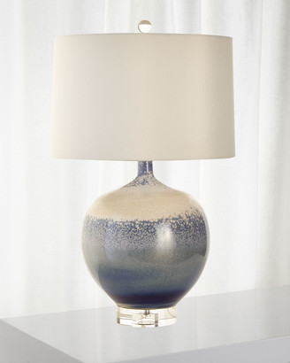 John-Richard Collection John Richard Collection Sea and Surf Porcelain Lamp