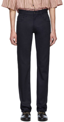 Prada Purple New Denim Stretch Jeans