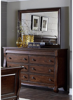 Liberty Rustic Russet 8-drawer Dresser and Mirror Set