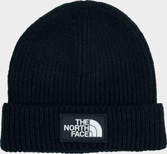 The North Face Logo Cuffed Beanie Hat