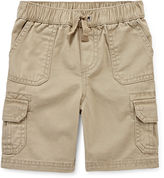 Arizona Khaki Cargo Shorts - Toddler Boys 2t-5t