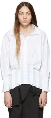 Enfold White Somelos Corset Shirt