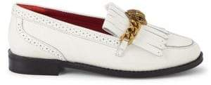 Kurt Geiger London Chelsea Brogued Fringe Leather Loafers