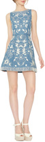 Alice + Olivia Lindsey Emboidered Dress