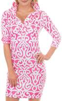 Gretchen Scott Arabesque Print Dress