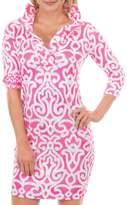 Gretchen Scott Arabesque Print Dress