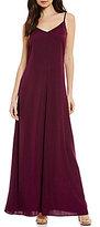 Armani Exchange A/X V-Neck Maxi Dress