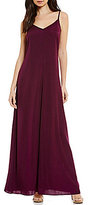 Armani Exchange V-Neck Maxi Dress