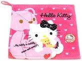 Hello Kitty Lovely Face Hand Towel Brand New 11.8 X 11.8 100% cotton bath sanrio Kids Girls