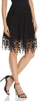 Elie Tahari Brielle Embroidered Skirt
